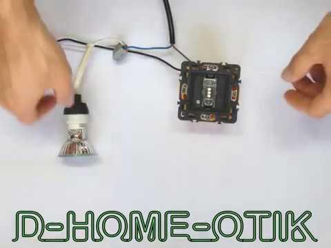 de a z installer un interrupteur temporis sans neutre c liane 1000w ref 67051 youtube. Black Bedroom Furniture Sets. Home Design Ideas