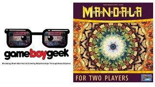 Mandala Review with the Game Boy Geek