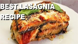 LASAGNA RECIPE PARMIGIANO EGGPLANT iTALIAN FOOD #lasagna #recipes #italianfood