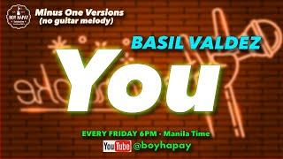 Basil Valdez - You acoustic minus one cover