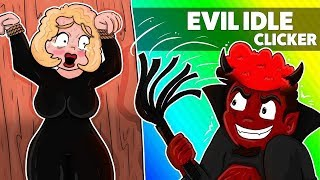 Idle Evil Clicker Evolution!!!!gameplay!!!!max Level`s