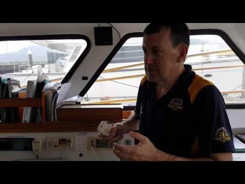 Using marine radio