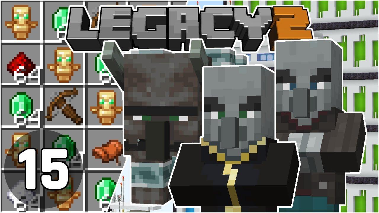 Raid Farm in the End & Mega Advancements! - Legacy SMP 2: #15 | Minecraft 1.16 Survival Multiplayer