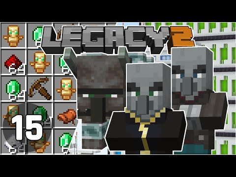 Raid Farm in the End & Mega Advancements! - Legacy SMP 2: #15 | Minecraft 1.16 Survival Multiplayer