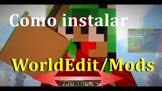 Como instalar o WorldEdit / Como instalar Mod [Tutorial] [Minecraft]