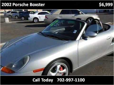 2002 porsche boxster used cars las vegas nv youtube. Black Bedroom Furniture Sets. Home Design Ideas