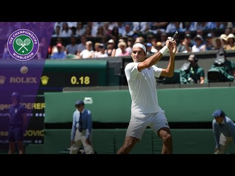 Roger Federer 'enjoying the moment' at Wimbledon 2018