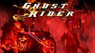 Free Psd Ghost Rider Youtube Thumbnail[free Template Download]