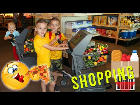 Kid Size Shopping at the Cube!