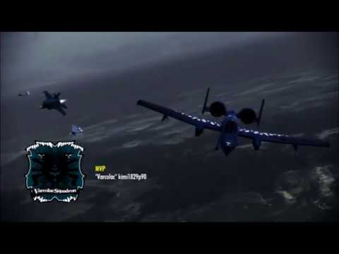 Ace Combat Infinity - Excalibur Onslaught IV (S Rank) 3/11/2018