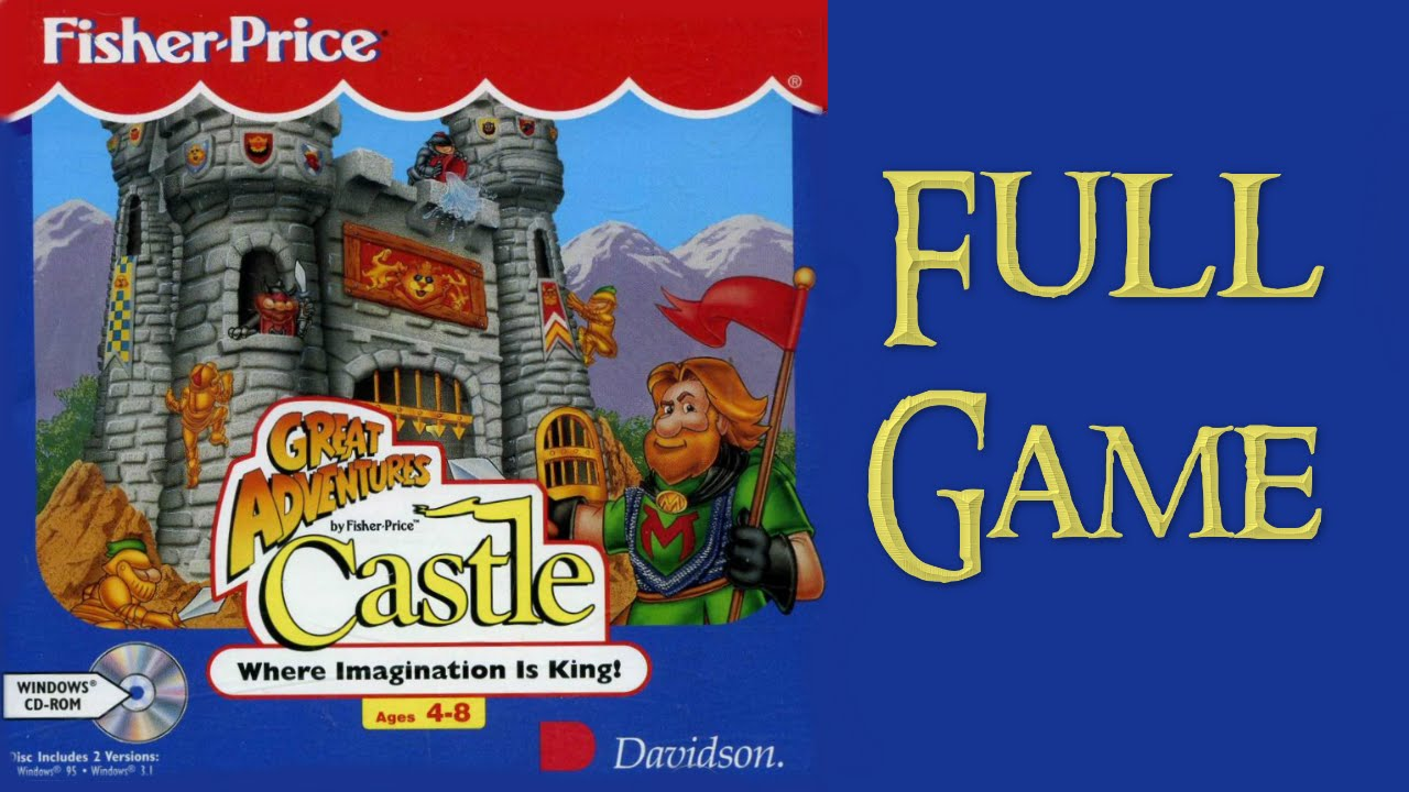Whoa I Remember Fisher Price Great Adventures Castle Windows 95 Edition Youtube
