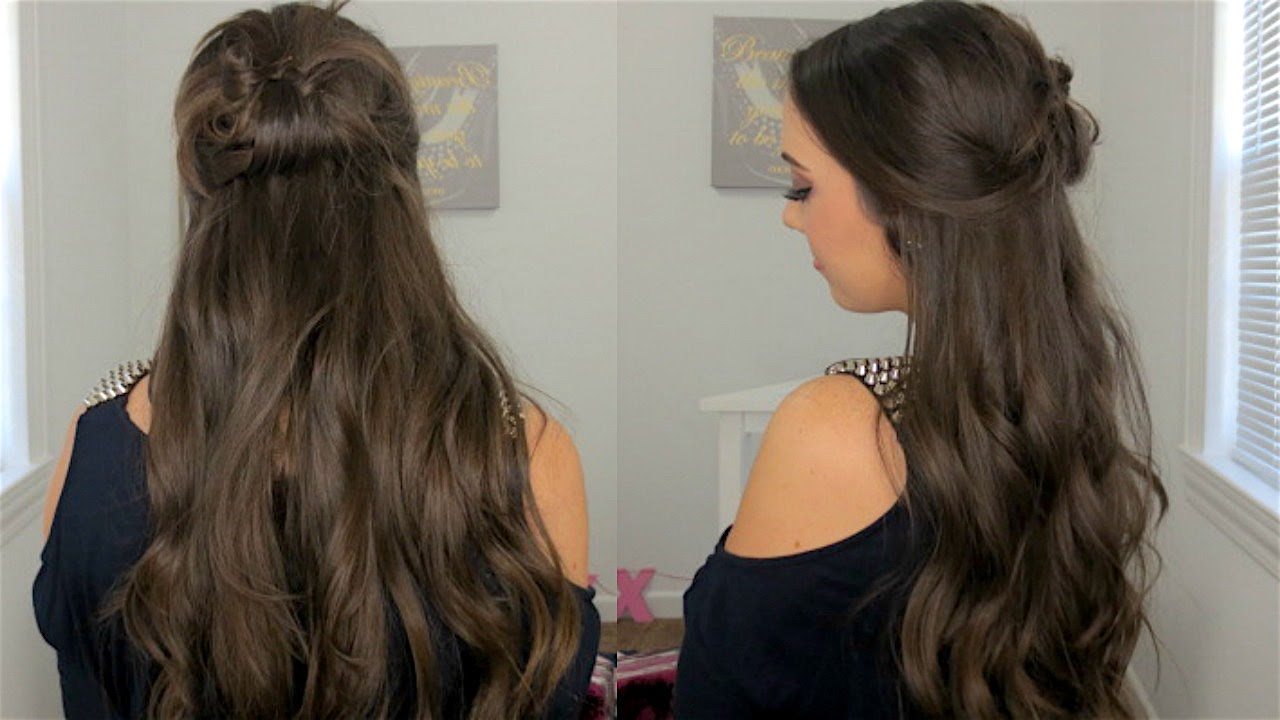 Fast & Simple Prom Hair Tutorial - YouTube