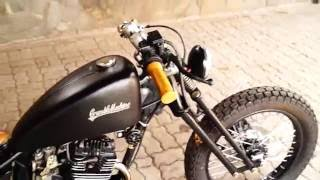 Video Bobber Custom Honda Mega Pro by Crumble Machine Motorcycles Garage download MP3, 3GP, MP4, WEBM, AVI, FLV Mei 2018