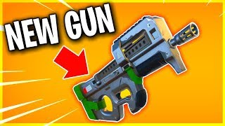NEW GUN! LEAKED DAMAGE AND SOUND EFFECTS! (best gun in Fortnite! highest DPS!)