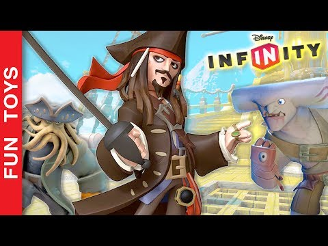 Piratas do Caribe Gameplay 💀 Controlamos o NAVIO do Jack Sparrow no do jogo Disney Infinity 1.0 #1