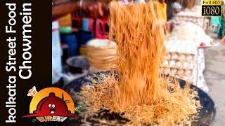 kolkata Street Food Chowmein || chow mein recipe || indian street food