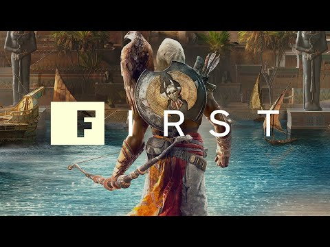 The Origin of Assassin's Creed Origins' Bayek and Senu - IGN First