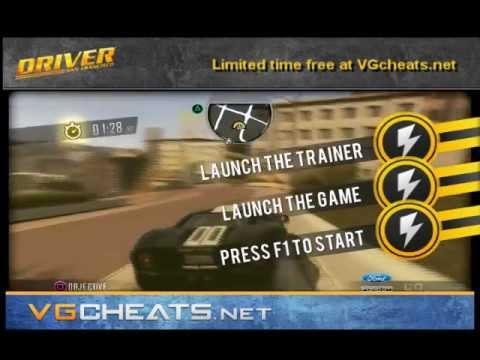 Driver San Francisco Cheats Trainer (PC) Wheel Support