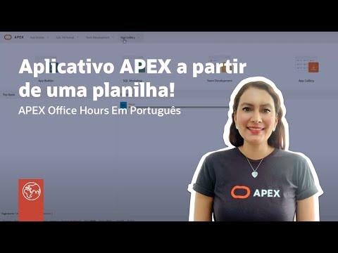 Crie Um Aplicativo APEX totalmente Funcional A Partir De Uma Planilha!