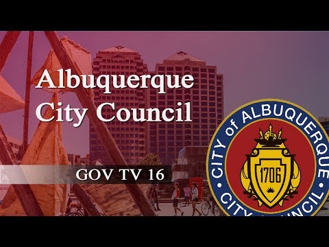 Albuquerque City Council Committee of the Whole Meeting,  May 3, 2018
