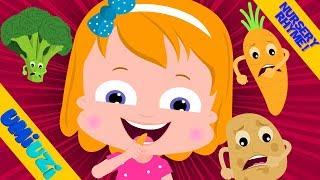 Umi Uzi   Vegetable Song   Kindergarten Nursery Rhymes For Toddlers