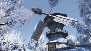 В новой МЕЛЬНИЦЕ живет БАРАБАШКА! - ч8 Life is Feudal  Forest Village