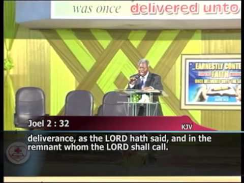 Download Pastor WF. Kumuyi -Restoring the fallen foundation of the Righteous-  April 2013
