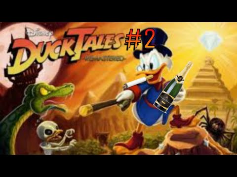 Duck tales: remastered #2 скелеты и призраки(Пенсильвания)