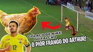 ARTHUR TOMOU O MAIOR FRANGO DA VIDA DELE NO JOGO REAL!