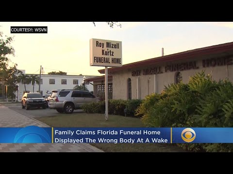 Craig Stevens - Funeral Home Displayed Wrong Body At Wake