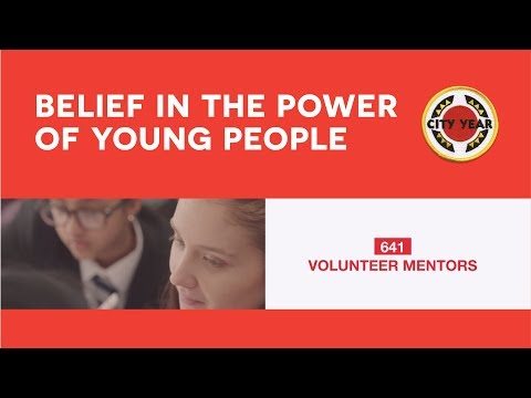 Belief in the power of young people | City Year UK