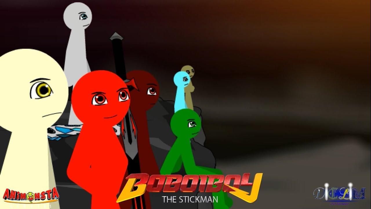 Boboiboy Kuasa 7 Stickman Parody