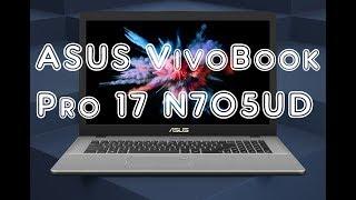 Обзор ноутбука ASUS VivoBook Pro 17 N705UD