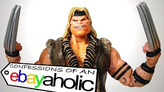 X-Men Classics ULTIMATE SABRETOOTH Confessions of an Ebayaholic Episode 57