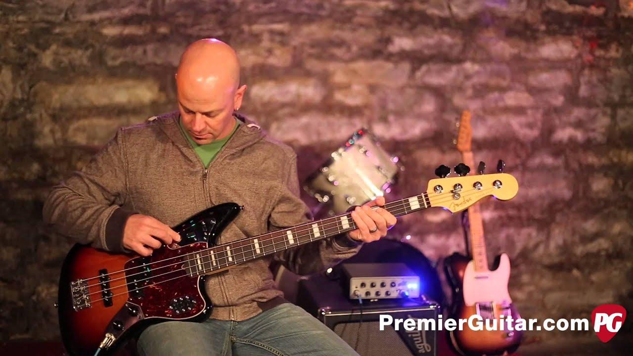 review demo fender american standard jaguar bass youtube. Black Bedroom Furniture Sets. Home Design Ideas
