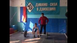 Чемпионат по тяжелой атлетике во Владивостоке