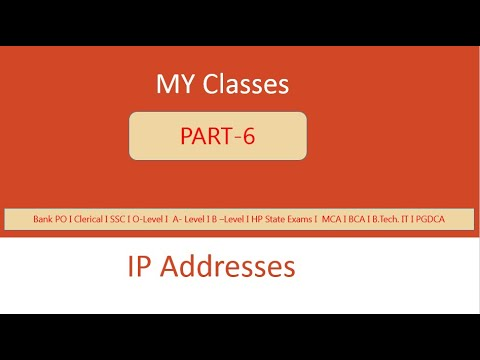 Internet Protocol Addresses in Detail I IPV4 & IPV6 I ...