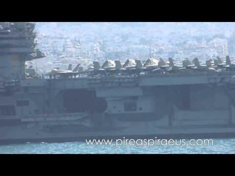 Армия США Крым Крим війна война  04 03 2014  АВИАНОСЕЦ Джордж Буш с 17 меньшими КОРАБЛЯМИ и  3 ЯДЕРН