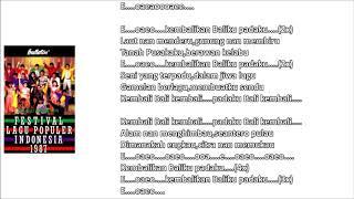 YOPIE L./SWARAMAHARDHIKA VG - KEMBALIKAN BALI-KU (Cipt. Guruh Soekarno Putra) (1987)