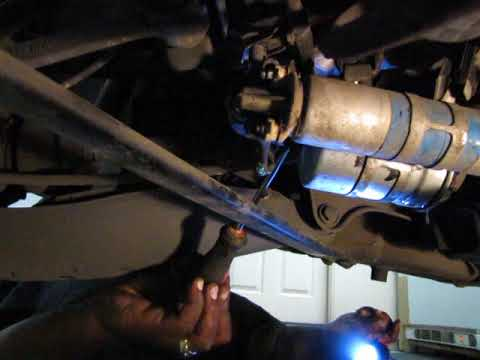 How to change fuel pump and fuel filter on Mercedes SLK230 - YouTube