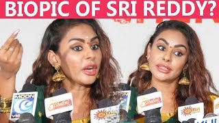 Sri Reddy talks in detail about her latest film in Tamil, Jayalalithaa