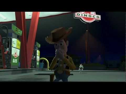 I Need A Gas Station >> Spain Fandub - Toy Story (Woody Vs Buzz) - YouTube