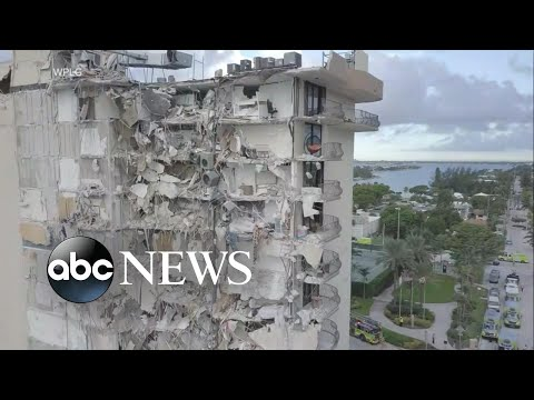 Hurricane may hinder Surfside building search