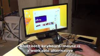 hp stream 7 using a plugable usb to hdmi adapter via otg for external 1080p displays