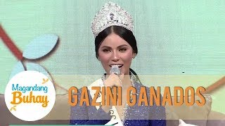 Miss Universe Philippines Gazini Ganados hopes to meet her father  | Magandang Buhay
