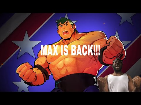 Streets Of Rage 4 Max Thunder Reveal Trailer... MAX IS BACK!!! |