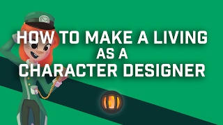 how to make a living as a character designer