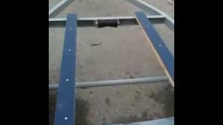 Home Built Boat Trailer