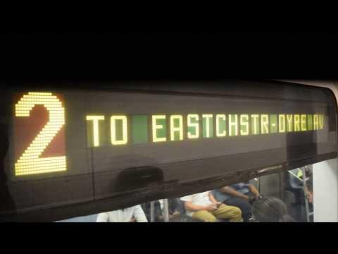 125th Street (IRT Lenox Avenue Line) Action!