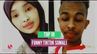 TOP 10 FUNNY TIKTOK SOMALI VIDEOS 2018   QOSOLKA ADUUNKA   PART 1